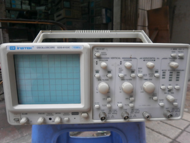 Free DHL/EMS Instek GOS-6103C GOS6103C 100 Oscilloscope W/o Handle Good Quality