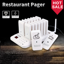 Restaurant Pager 16-Pager-Receiver Queue-System Coffee-Shop Waiter Retekess Td157 Wireless