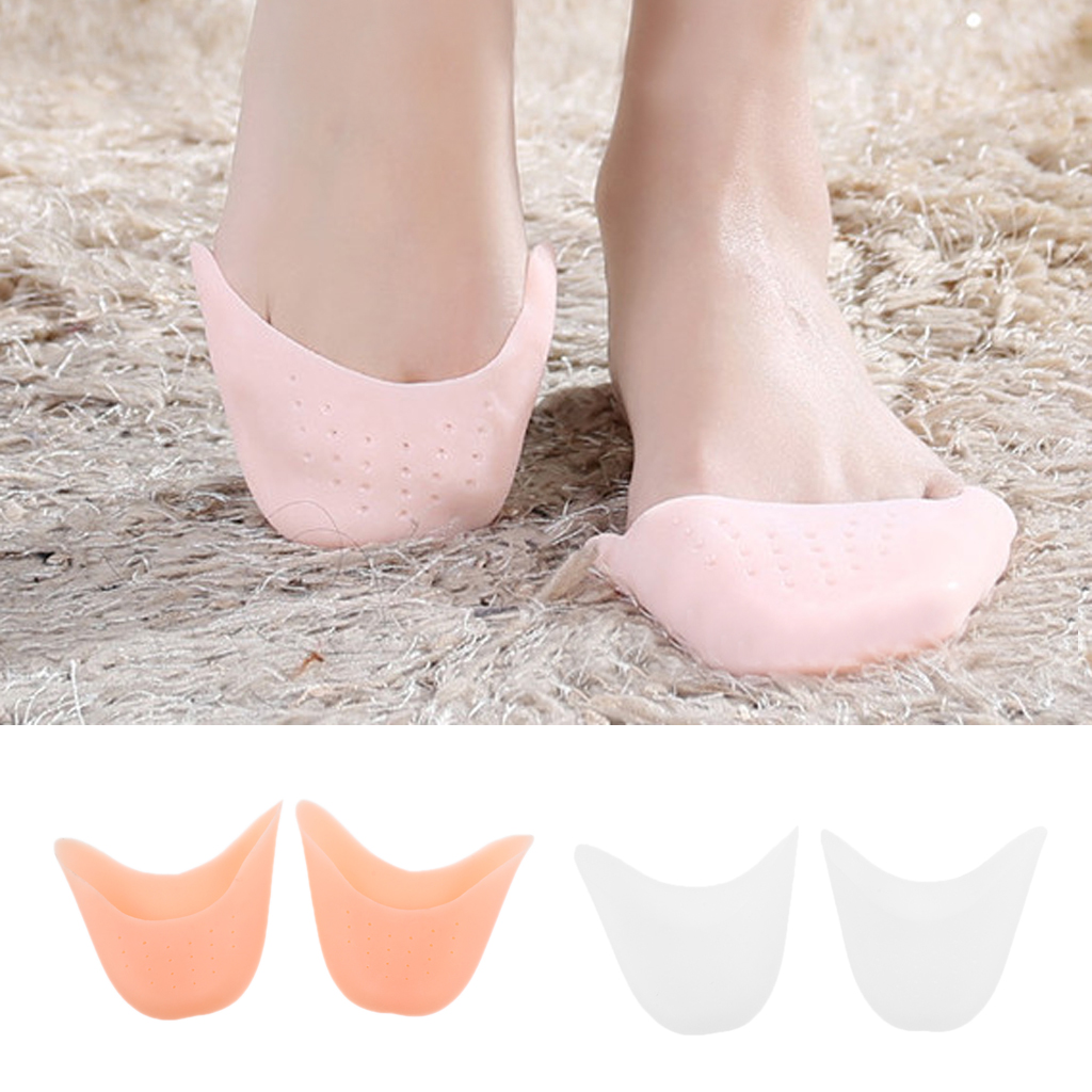 1Pairs Soft Finger Protector Silicone Gel Pointe Ballet Dance Shoe Toe Pads Toe Foot Care Protector Tool