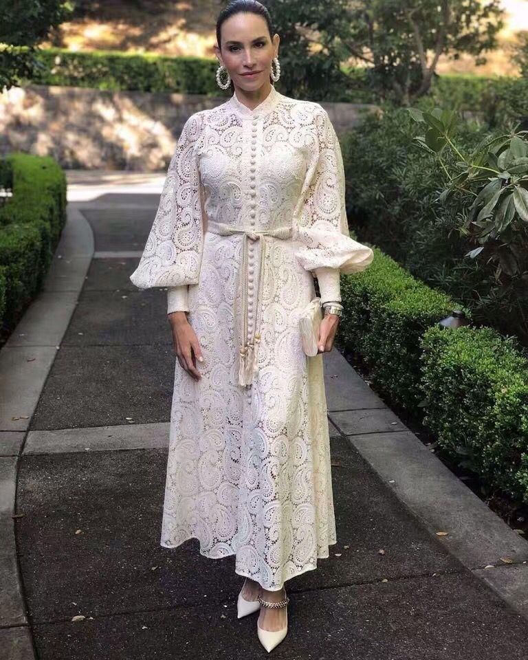 2019 nouvelle arrivée robe longue de haute qualité avec ceinture