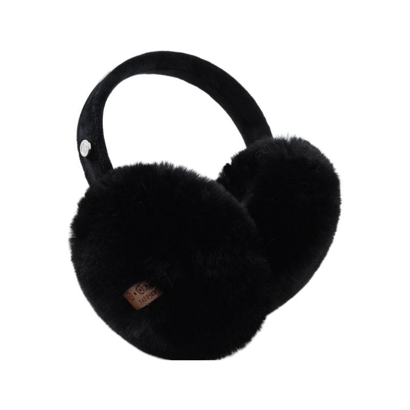 2019 New Unisex Winter Warm Bluetooth Earmuffs Wireless Plush Earphone Music Ear Warmers