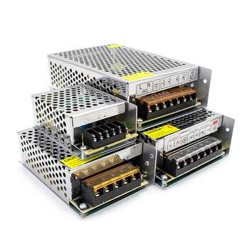 цена на Universal DC Power Supply 12 volt 5V 9V 12V 24V Power Supply LED Driver Transformer 220V TO 5V 9V 12V 24V For Led Strip cctv