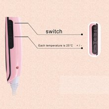 Professional Electric Fast Straightening Comb with LCD Display