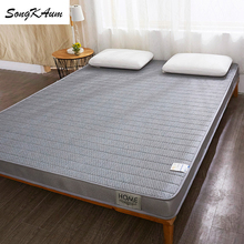 Natural Latex Mattresses Dormitory-Tatami Foldable Single Double-Home Student Songkaum