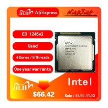 معالج انتل سيون E3 1245 v2 E3 1245v2 E3 1245 v2 3.4 GHz رباعي النواة 8M 77W LGA 1155
