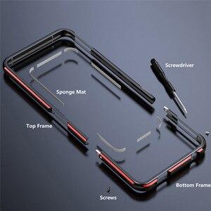 Image 5 - Étui de protection solide de bord de cadre en métal pour Nubia Z20 accessoires housse de téléphone antichoc coque de cadre de pare chocs pour Nubia Z20