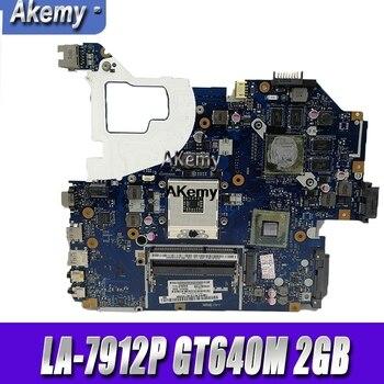 Für For Acer aspire V3-571 V3-571G E1-571G Laptop Motherboard HM77 DDR3 NBRZP11001 Q5WVH LA-7912P GT640M 2GB