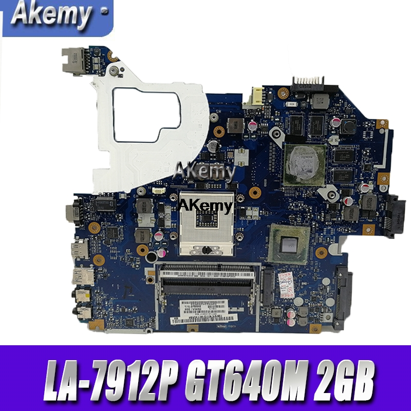 For Acer aspire V3 571 V3 571G E1 571G Laptop Motherboard HM77 DDR3 NBRZP11001 Q5WVH LA 7912P GT640M 2GB|Motherboards| |  - title=