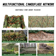 Camouflage-Nets Shade SUN-SHELTER Army Military Woodland Hunting 3m Car 7m 5m 4m 2mx10m