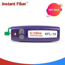 10 мВт ручной Визуальный дефектоскоп/VFL/волоконно-волоконный дефектоскоп, ручка волоконный cheaker может проверить 12 км