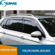 for Volkswagen VW TIGUAN Window Visor deflectors 2010 2011 2012 2013 2014 2015 2016  Accessories SUNZ