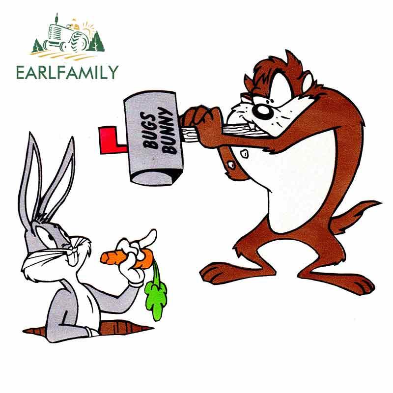 /'/'SIZES/'/' Looney Tunes Cartoon Lola Bunny Sticker Bumper Decal