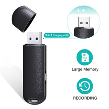 QZT Mini Voice Recorder Micro Audio Recording Device Mini Sound Recorder Professional Usb Flash Drive Voice Activated Recorder