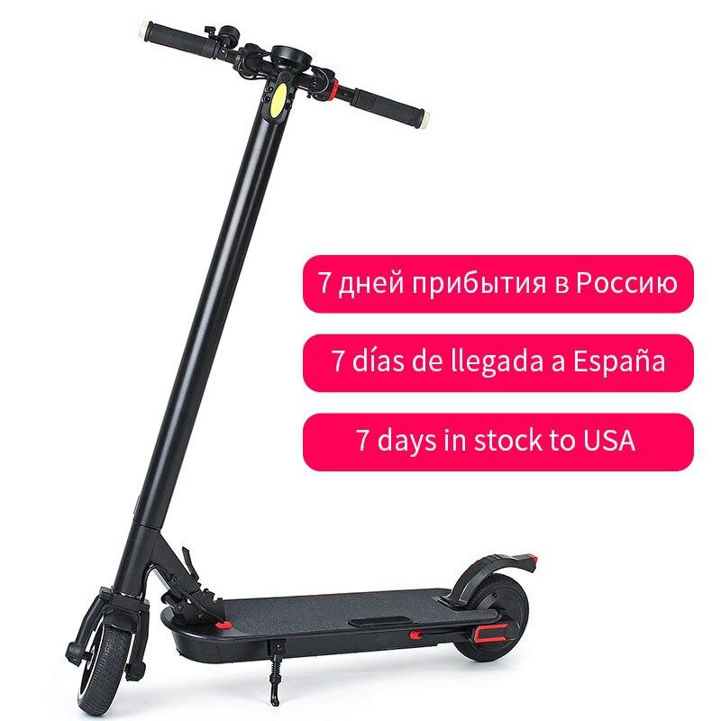 350W adulte Scooter électrique vélo intelligent pliant électrique longue planche Hover planche à roulettes électrique vélo avec lumière LED 2 roues