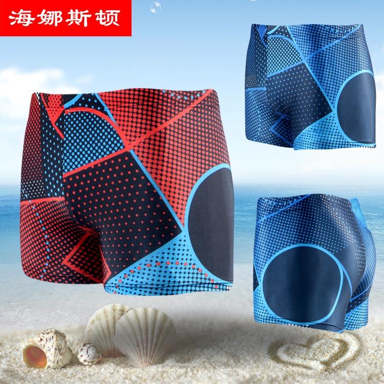 Korean-style Trend Men Boxer Swimming Trunks 5907