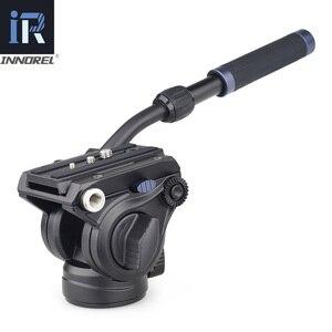 Image 2 - MT70 Video Camera Statief Snelle Flip Gesp Vloeistof Hoofd Panoramisch Half Bal Kom Monopod Stand Base Voor Digitale Dslr Camcorder
