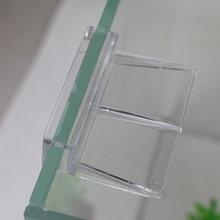Clips en acrylique pour Aquarium 6mm, pièces pour poissons aquatiques animaux de compagnie 1 pièce