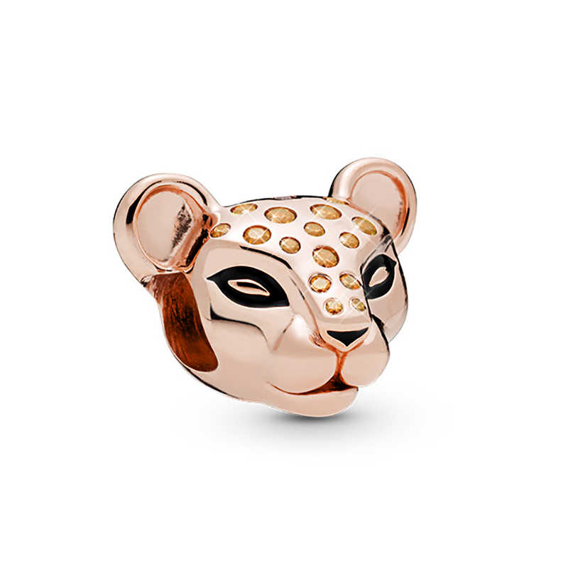 SEIALOY 2Pcs האריה מלך חרוזים קסם מקורי האריה סימבה Mufsa תליון Fit פנדורה בני צמיד צמיד ילד תכשיטי שרשרת