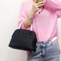 Luxury Genuine Leather Women Handbags Designer Key Lock Women Bag Top Handle Simple Womens Crossbody Bags 2019 Shell Bag