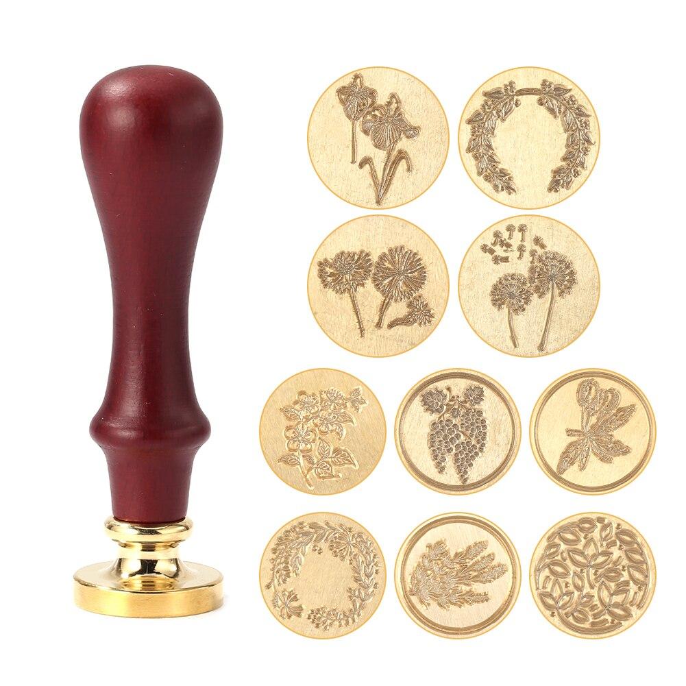 Retro Wax Seal Stamp Replace Copper Head Vintage Envelope Sealing Hobby Tools DIY Sealing Wax Decoration Craft Kits
