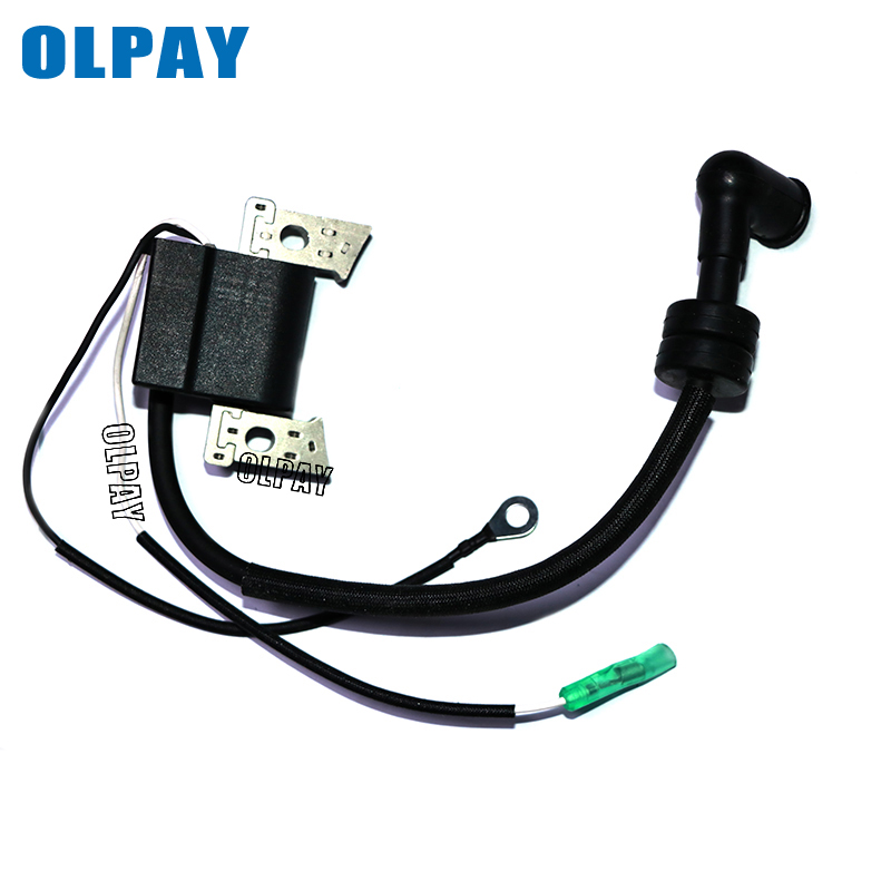 Ignition Coil Assy 6BX-85571-00 For Yamaha Boat Engine F4L F4S F6L F6S F6C 4-Stroke, Coil For Hidea F6 4 Stroke 6HP