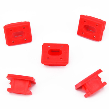 Acessories Trim Strip Clips Car Dashboard For BMW E46 E65 E66 7 X3 Grommet Red Parts Dash Suitable Brand New New image
