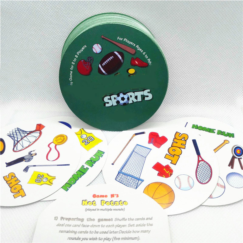 2019 Spot Board Games Enjoy It Card Game With English Rules For Kids Family Party Most Classic Dobble It Cards Game