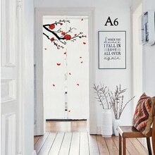 Niccity 18 шаблонов печать, Япония, недорогая дверная занавеска, отдельный гобелен, таверна, семейный ресторан, столовая зона, кухня