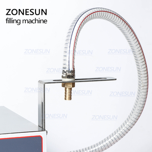 Image 4 - ZONESUN GZ GFK17C Automatic Filling Machine Laundry Detergent Shampoo Oil  Juice Water milk Liquid Bottle Filling Machine