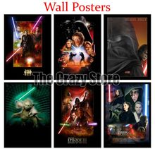 Star Wars Episode III Revenge of the Sith Film White Kraft Paper Poster Home Decor Painting classic prints 42X30cm цена