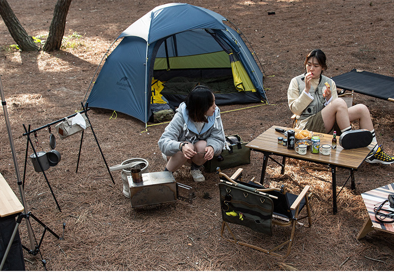 Naturehike pendurado rack de liga alumínio acampamento