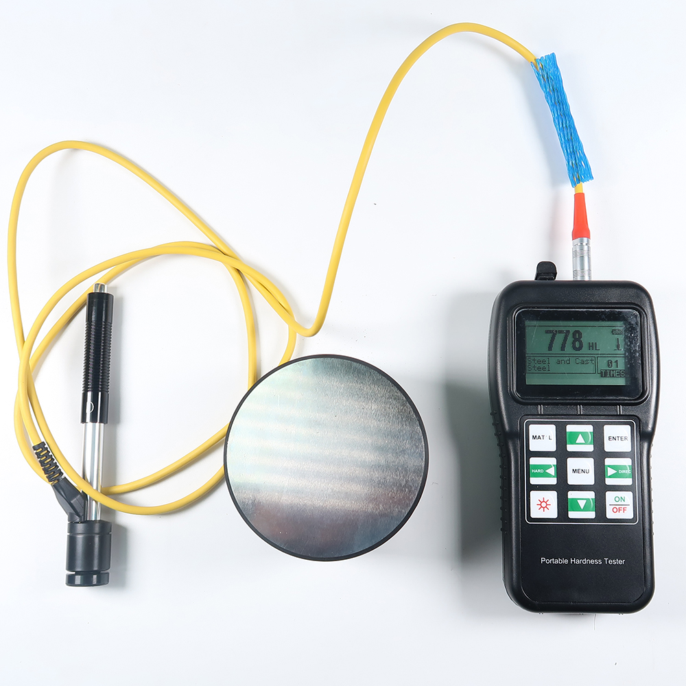 THL180 Digital Portable Leeb Hardness Testers With D Test Block And D Impact Device