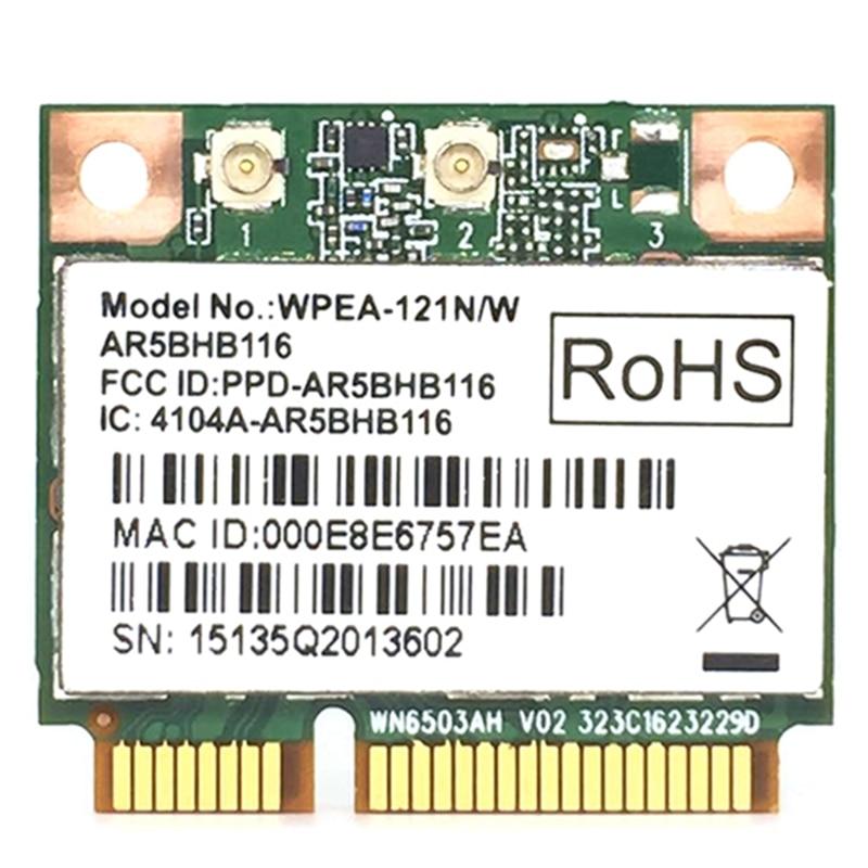 Wireless Network Card Atheros AR9832 AR5BHB116 2.4/5 GHz Single-Chip 300 Mbps 802.11N MINI PCI-E Wireless Card WIFI