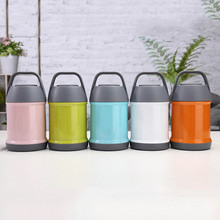 Food flask Vacuum Insulated Food Container Stainless Steel Insulated Food thermos thermos for food with containers Thermos Flask термос для горячего food flask оранжевый