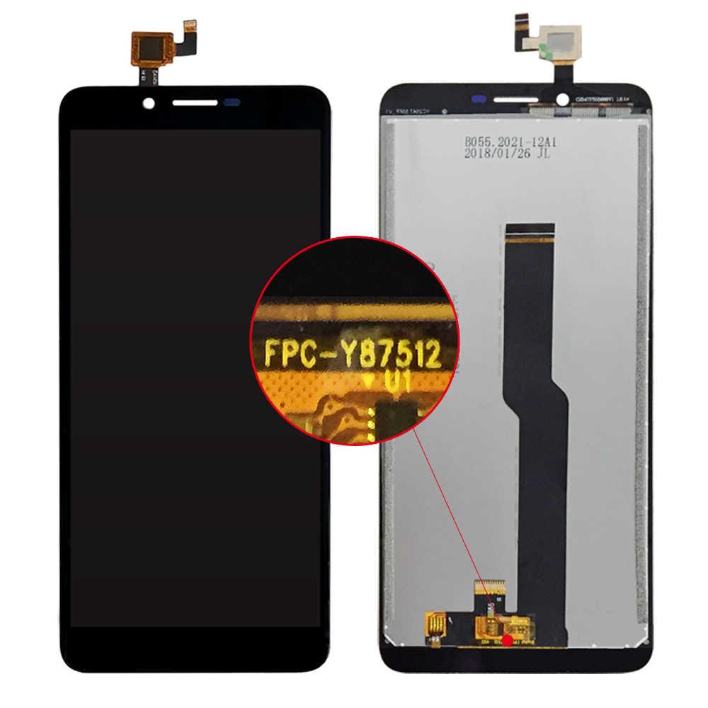 5,5 pulgadas para Doogee X60L pantalla LCD + Reparación de conjunto de pantalla táctil parte accesorios de teléfono para Doogee X60 LCD parte de teléfono móvil