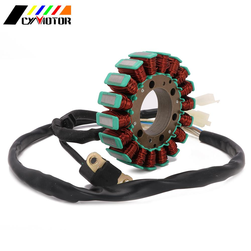 Motorcycle Magneto Engine Stator Generator Alternator Charging Coil <font><b>Parts</b></font> For <font><b>Yamaha</b></font> <font><b>XT600</b></font> XT600E XT 600 90-02 XV250 Virago250 image