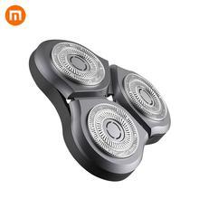 Xiaomi الكهربائية الحلاقة الحلاقة رئيس للرجال الجاف الرطب الحلاقة آلة اللحية المتقلب استبدال قابلة للشحن الرئيسي الفرعية المزدوج شفرة