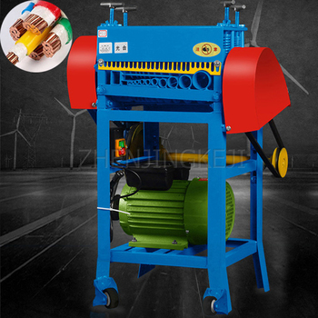 220V Cable Peeling Machine Scrap Copper Line Stripping Machine Dial Line Equipment Fully Automatic Electric Wire Peeling Tools cable peeling machine electric wire stripping machine metal tool scrap cable stripper