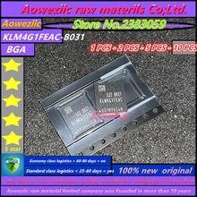 Aoweziic, новинка 100%, оригинальная флешка, память 4G EMMC KLM4G1FEAC B031