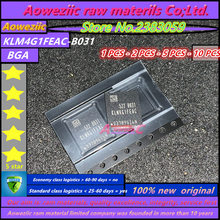 Aoweziic 100% חדש מקורי KLM4G1FEAC B031 BGA זיכרון 4G EMMC KLM4G1FEAC B031