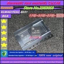 Aoweziic  100% new original    KLM4G1FEAC B031  BGA  Memory 4G EMMC  KLM4G1FEAC B031