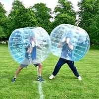2PCS Air Bubble Soccer Zorb Ball 0.8mm Pvc 1.7m Air Bumper Ball Adult Inflatable Bubble Football,zorb Ball For Sale