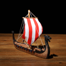 2020 New Style Viking Dragon Boat  with Sail Home Decoration as gift