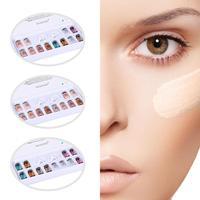 12pcs/set 8ml BB Cream Skin Cream Meso White Brightening Serum With Dropper Natural Nude Concealer Make Up Foundation
