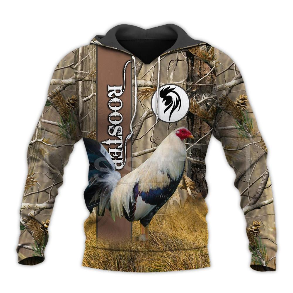 Tessffel Animal Symbol Chicken Rooster Funny Crewneck NewFashion Tracksuit Harajuku 3DPrint Zipper/Hoodies/Sweatshirts/Jacket 19