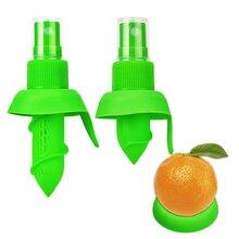 2 шт./компл. ручная соковыжималка фруктового сока, насадка-спрей для Сока Цитрусовых, апельсиновый сок выжать распылитель для лимона для приготовления стейка салат из курицы напитки