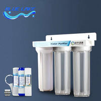 Factory direct sales,10 inch 3 level Direct drinking water purifier,Household kitchen Pre filter water filter,Protect health