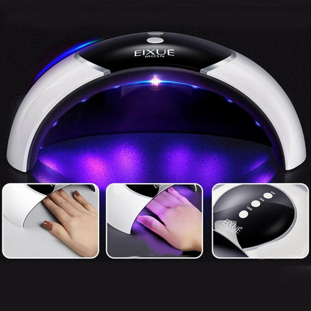 VIBRANT GLAMOUR UV&LED Fast-dry Nail Light Machine Nail Polish Lamp Induction Speed Dry LED Nail Dryer Lamp for Nails Art