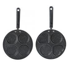 Высокое качество 4 отверстия антипригарное покрытие сковорода домашняя кухонная посуда инструмент для приготовления яичницы кухонные аксессуары