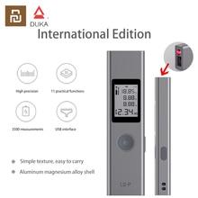 Xiaomi Duka Laser télémètre 40m LS P USB Flash charge télémètre haute précision mesure Portable télémètre Portable